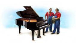 Заказ перевозки пианино и роялей