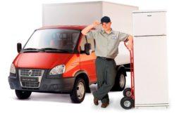 Профессиональная транспортировка бытового холодильника