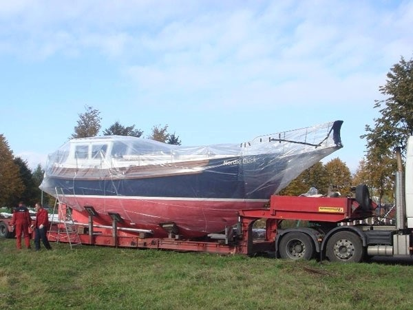 Подбор грузового транспорта для перевозки яхты