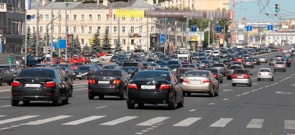 Получение разрешения на движение по улицам Москвы
