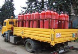 Как производится транспортировка газовых баллонов?