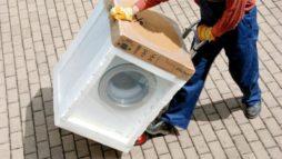Как правильно организовать перевозку стиральной машины?