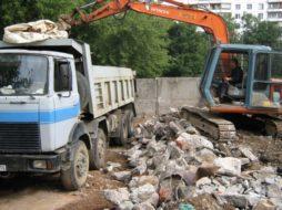 Вывоз строительного мусора: организация и особенности